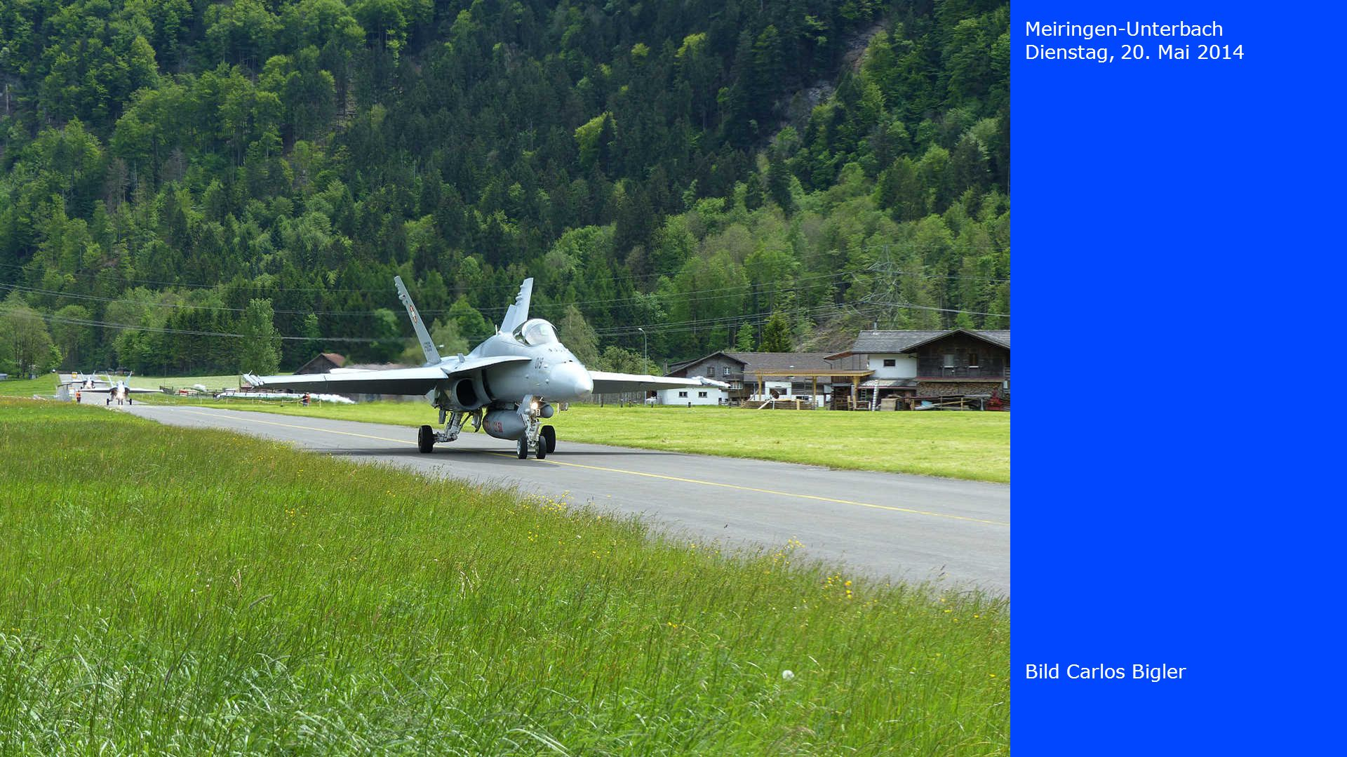 Meiringen-Unterbach Dienstag, 20. Mai 2014 Bild Carlos Bigler