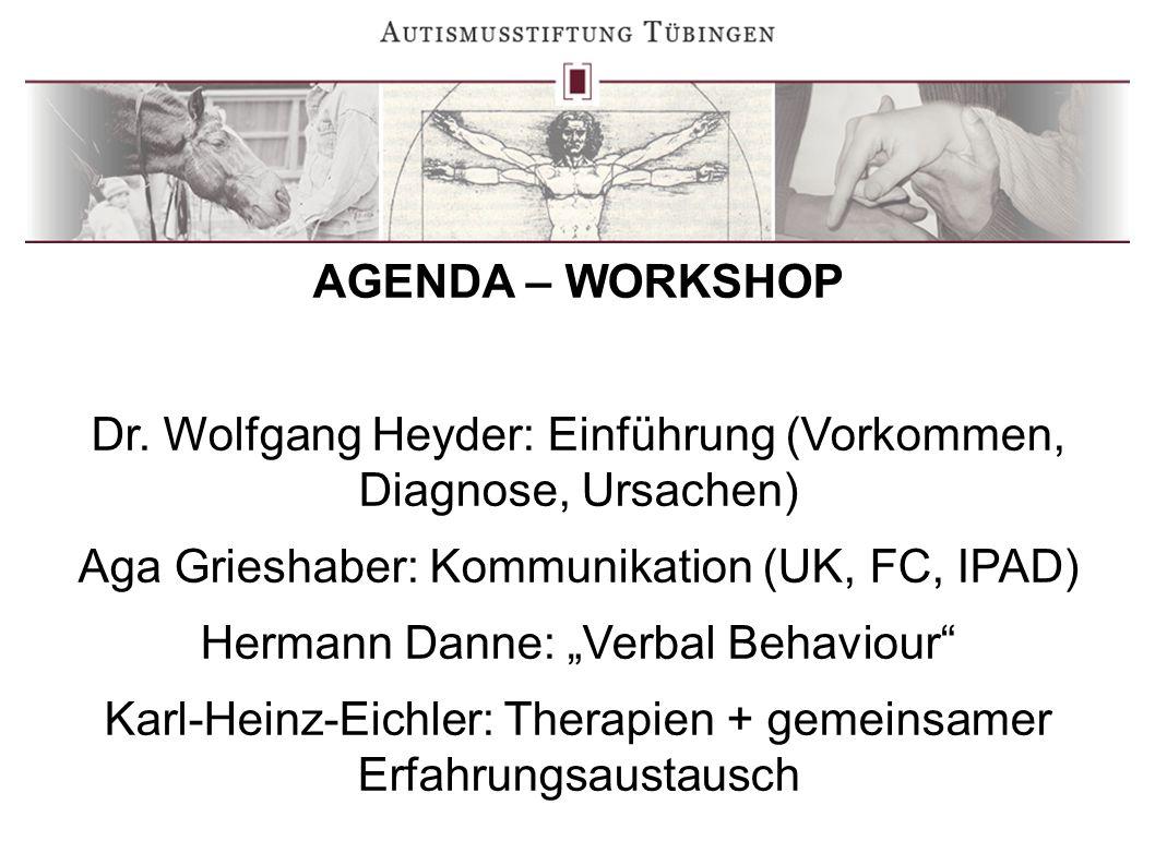 Dr. Wolfgang Heyder: Einführung (Vorkommen, Diagnose, Ursachen)