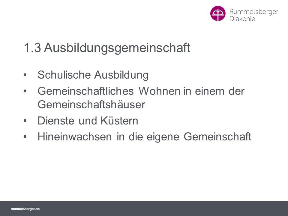 1.3 Ausbildungsgemeinschaft