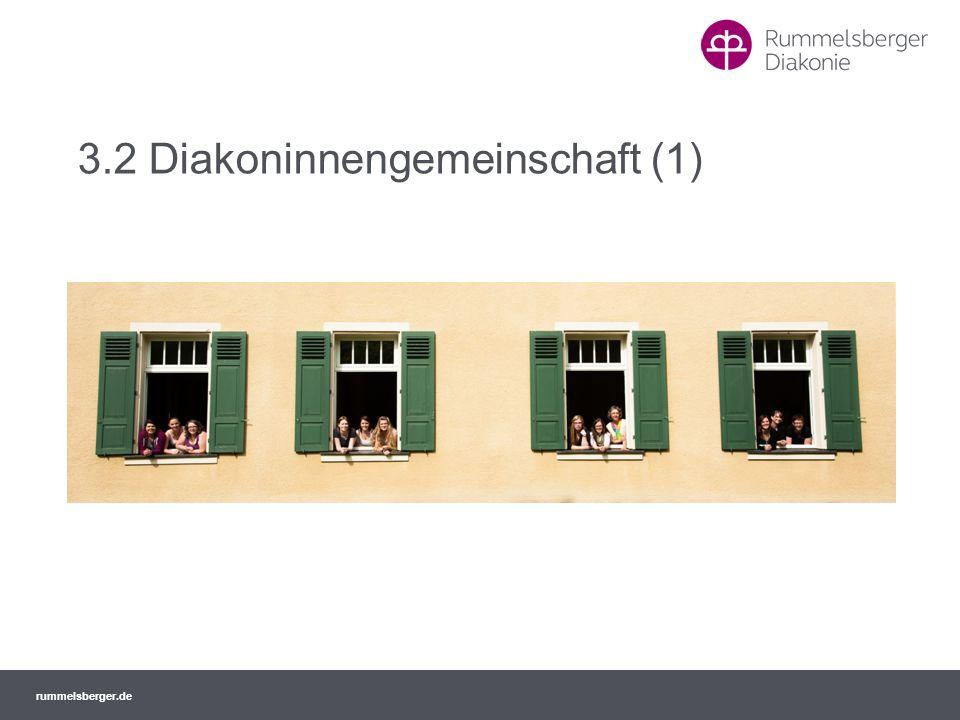 3.2 Diakoninnengemeinschaft (1)