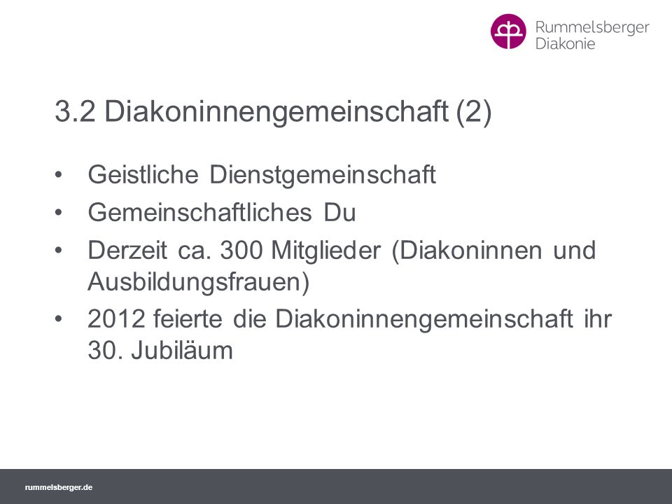 3.2 Diakoninnengemeinschaft (2)