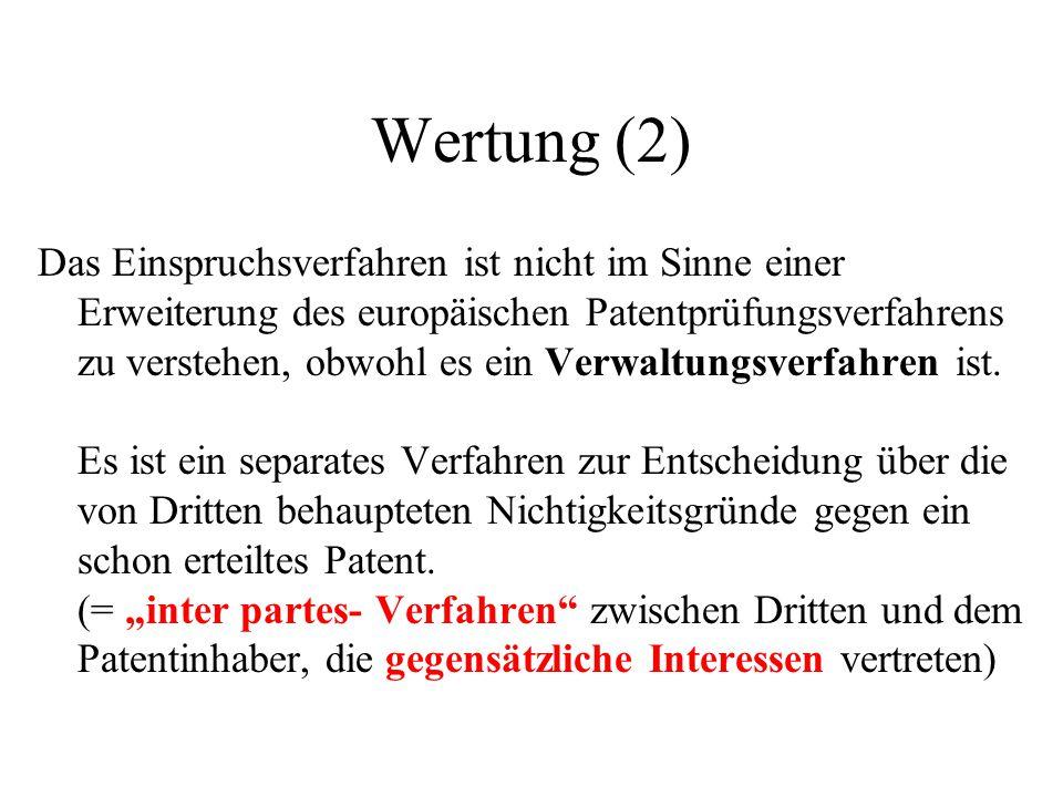 Wertung (2)