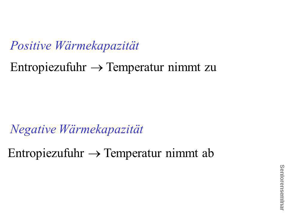 Positive Wärmekapazität