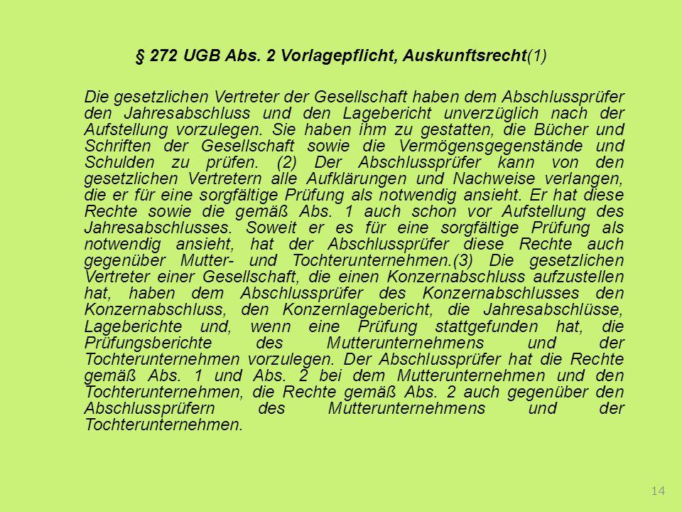 § 272 UGB Abs.