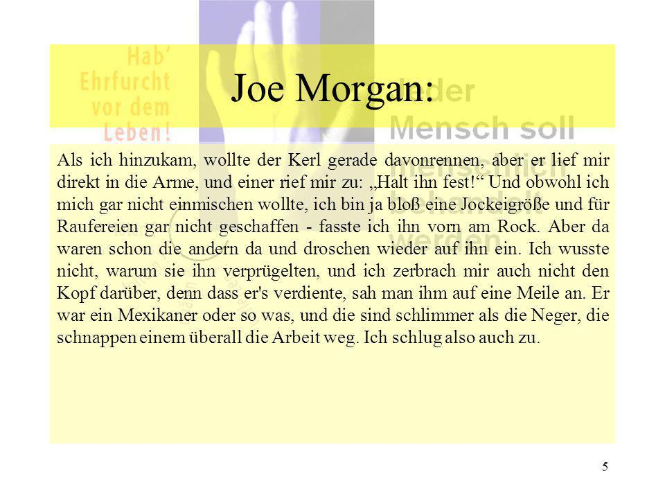 Joe Morgan: