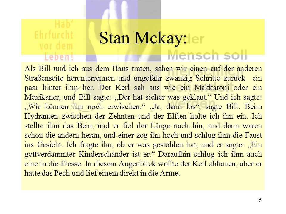 Stan Mckay: