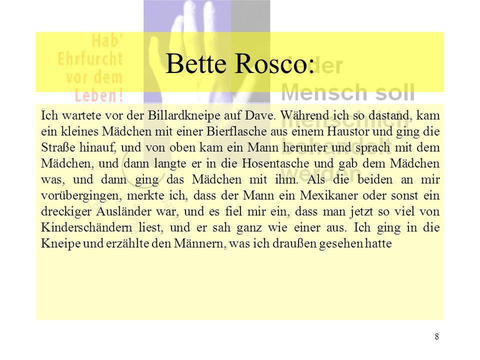Bette Rosco: