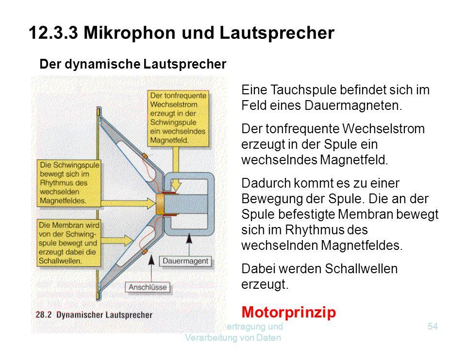 12.3.3 Mikrophon und Lautsprecher