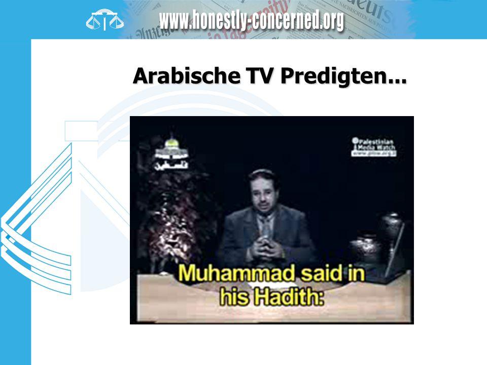 Arabische TV Predigten...
