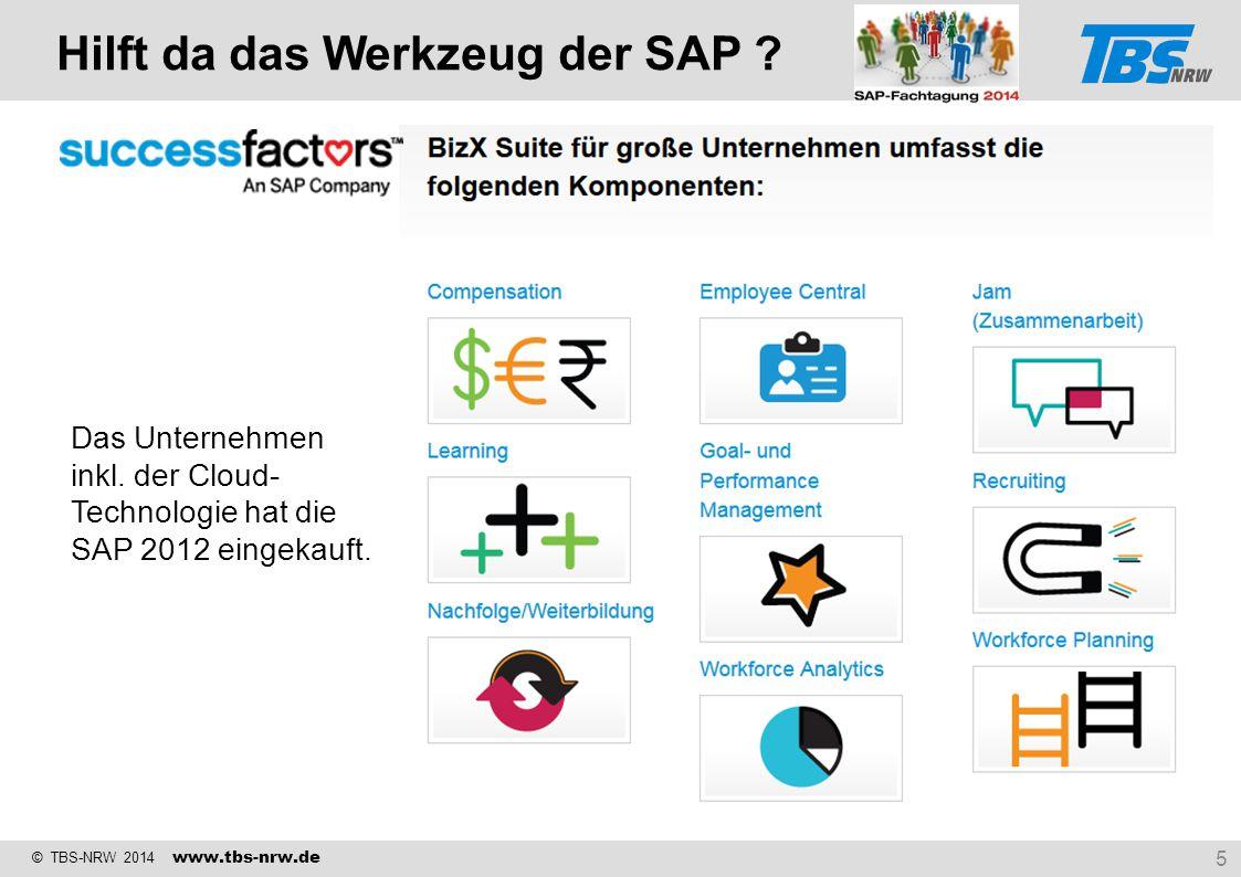 Hilft da das Werkzeug der SAP