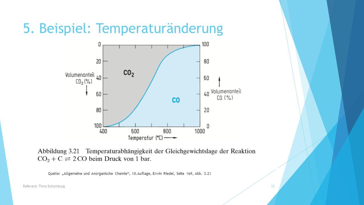 5. Beispiel: Temperaturänderung