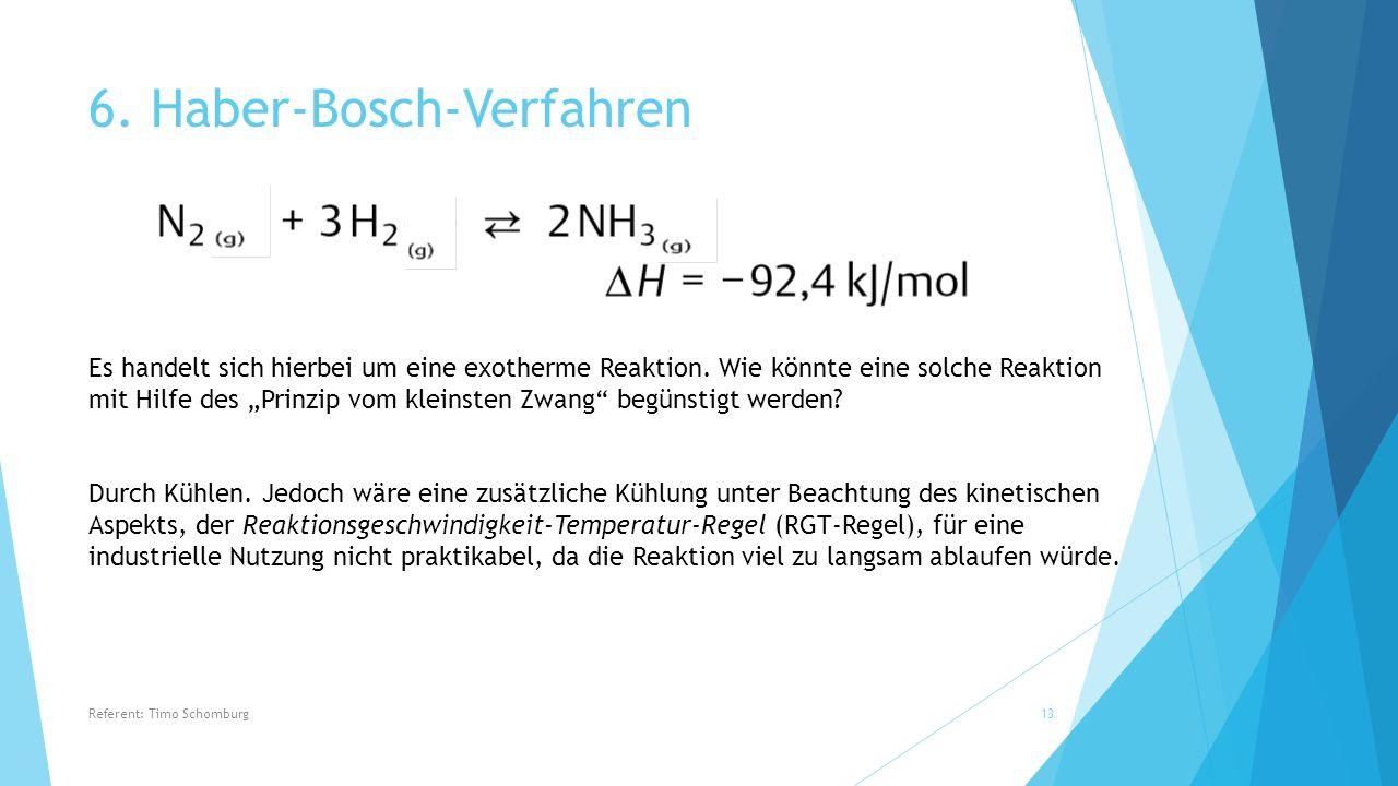 6. Haber-Bosch-Verfahren