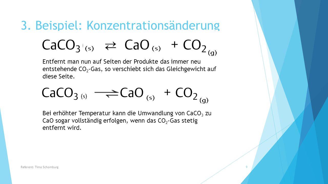 3. Beispiel: Konzentrationsänderung