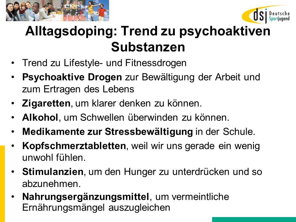 Alltagsdoping: Trend zu psychoaktiven Substanzen