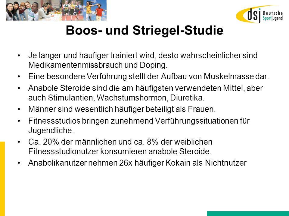 Boos- und Striegel-Studie