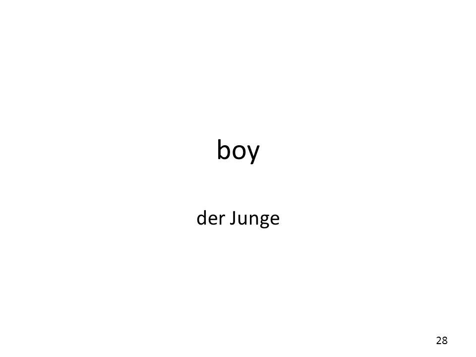 boy der Junge
