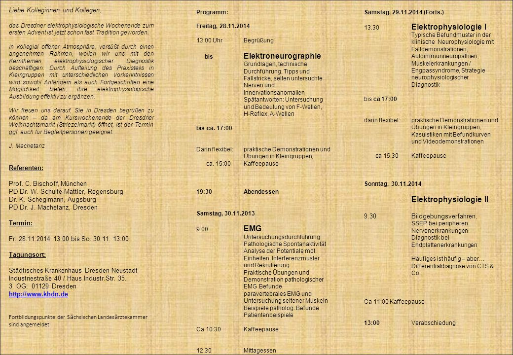 Elektrophysiologie II
