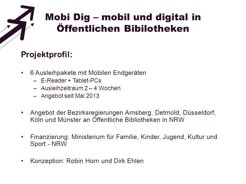 Mobi Dig – mobil und digital in Öffentlichen Bibilotheken
