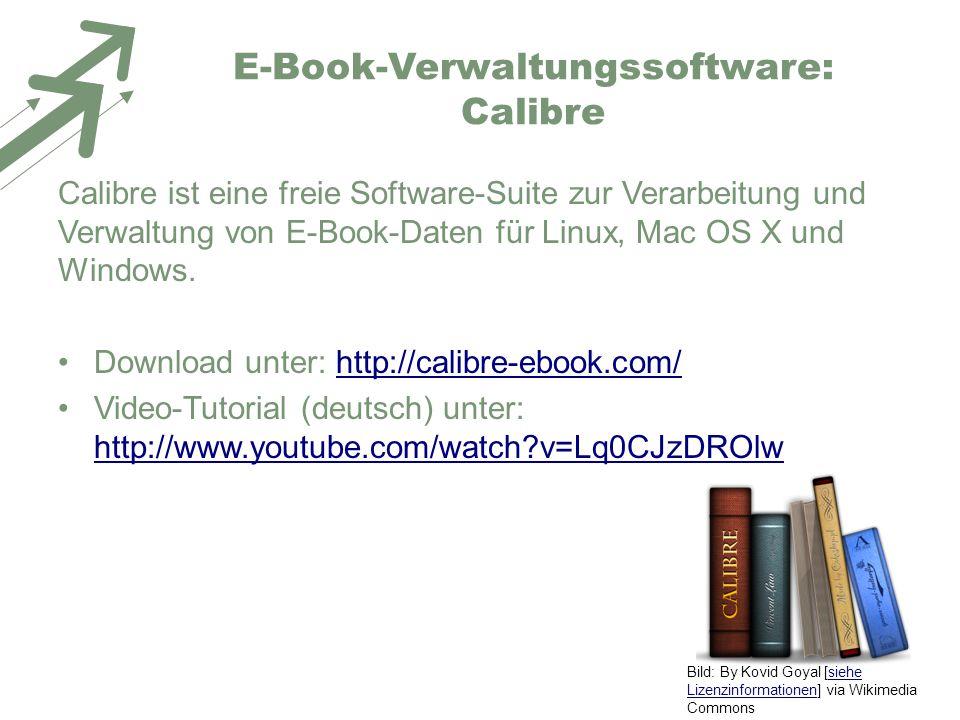 E-Book-Verwaltungssoftware: Calibre