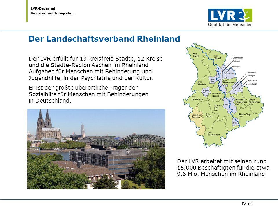 Der Landschaftsverband Rheinland