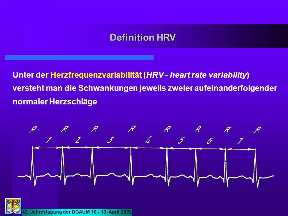 Definition HRV