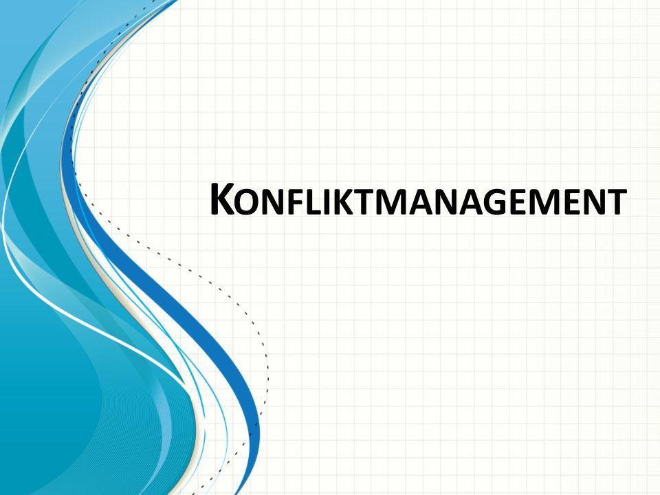Konfliktmanagement Diese Vorlage kann als Ausgangspunkt für die Präsentation von Schulungsmaterialien in einer Gruppensitzung dienen.
