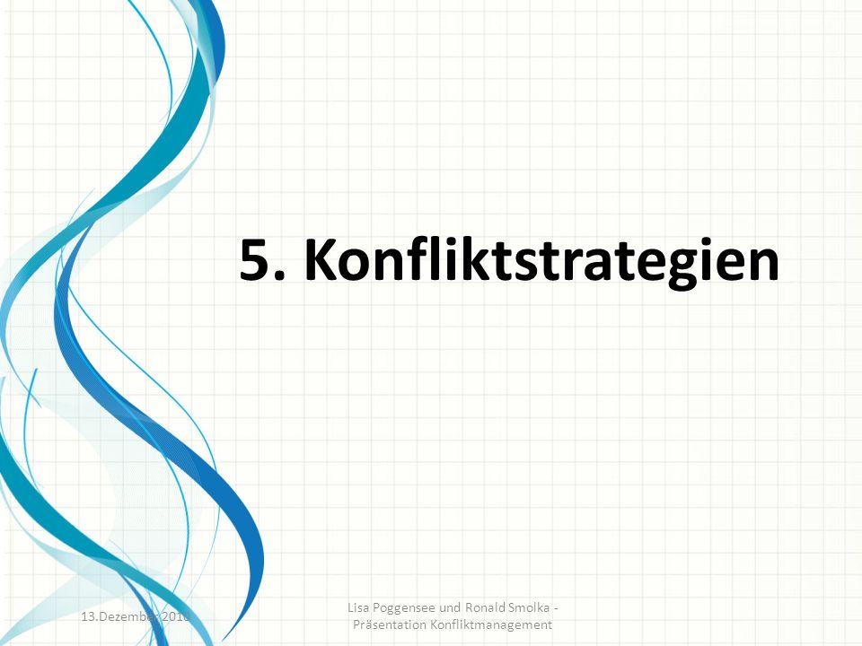 Lisa Poggensee und Ronald Smolka - Präsentation Konfliktmanagement