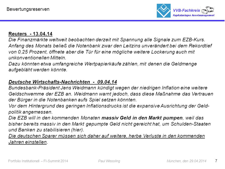 Deutsche Wirtschafts-Nachrichten - 09.04.14