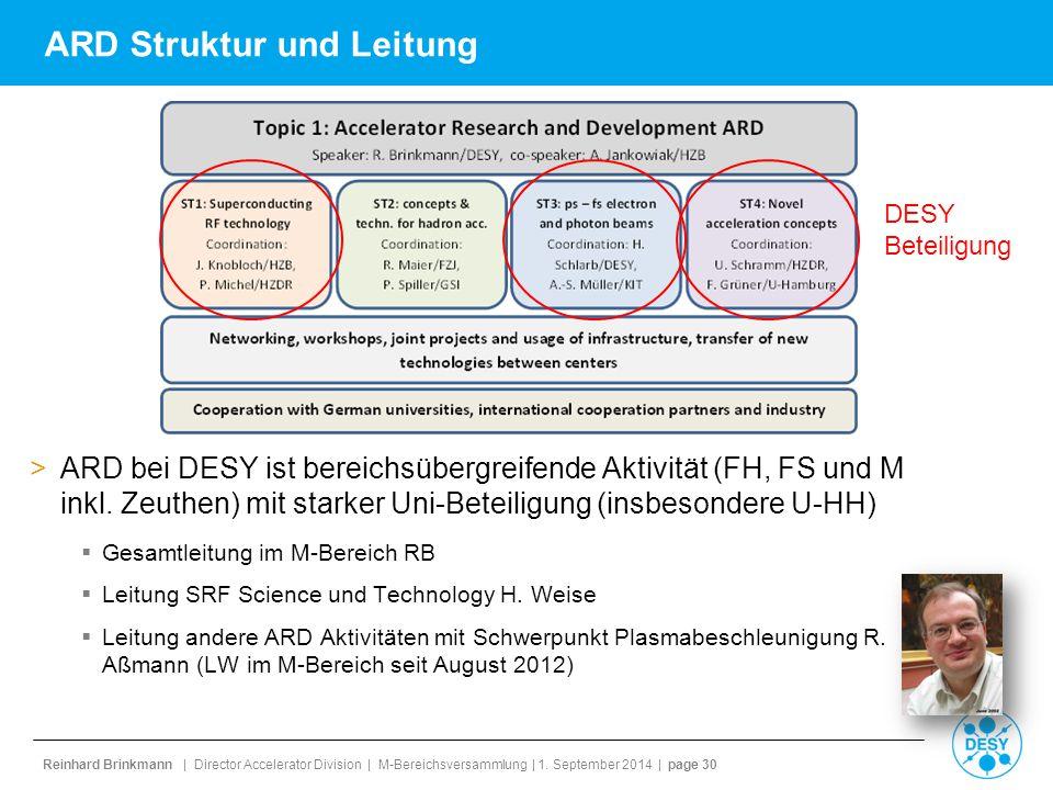 ARD Struktur und Leitung