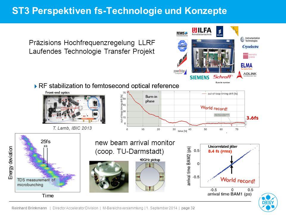 ST3 Perspektiven fs-Technologie und Konzepte