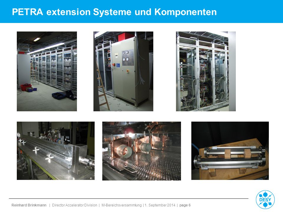 PETRA extension Systeme und Komponenten