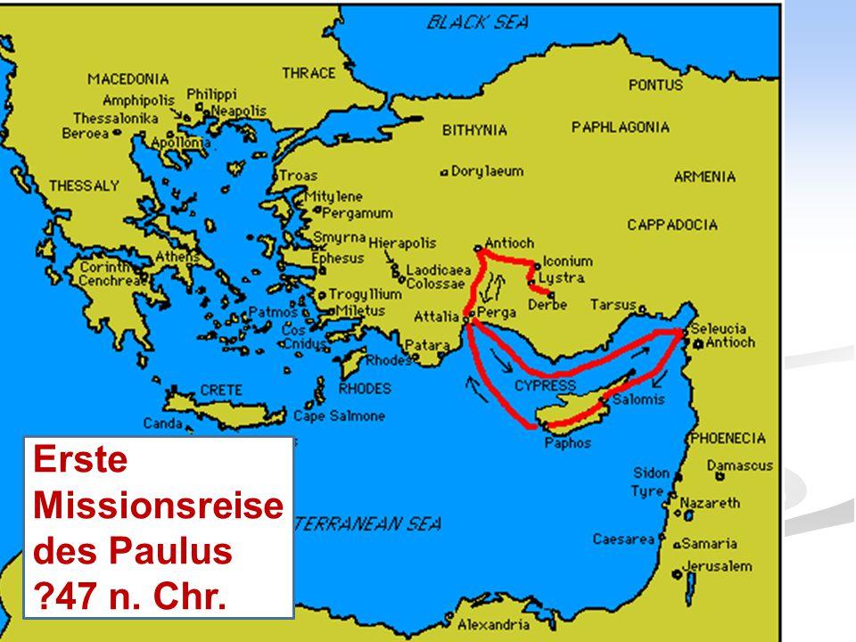 Erste Missionsreise des Paulus