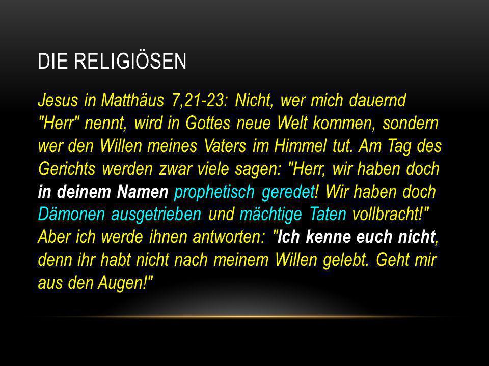 Die Religiösen