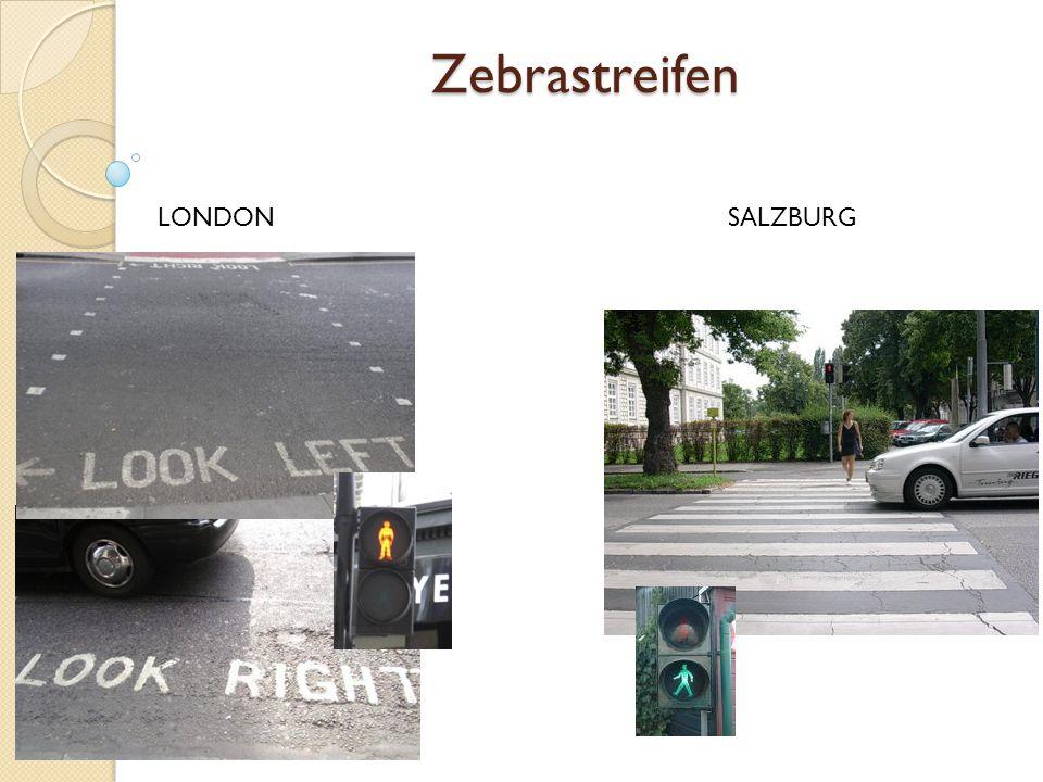 Zebrastreifen LONDON SALZBURG