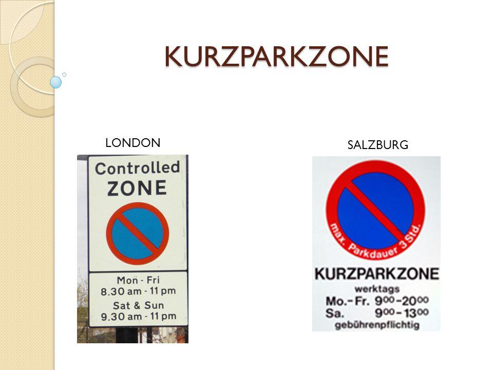 KURZPARKZONE LONDON SALZBURG