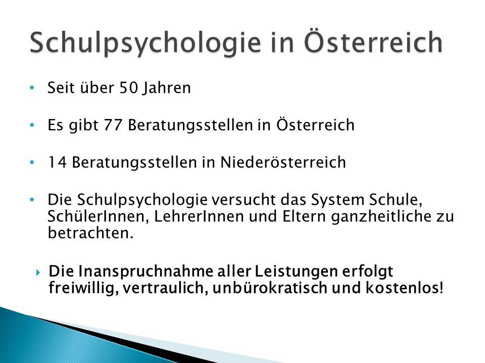 Schulpsychologie in Österreich