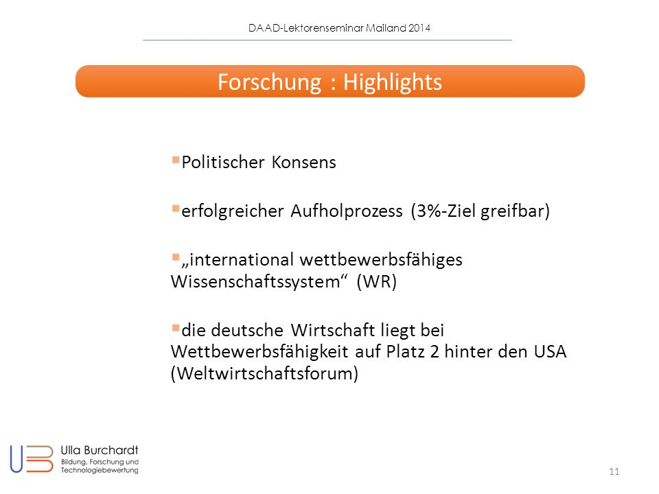 Forschung : Highlights