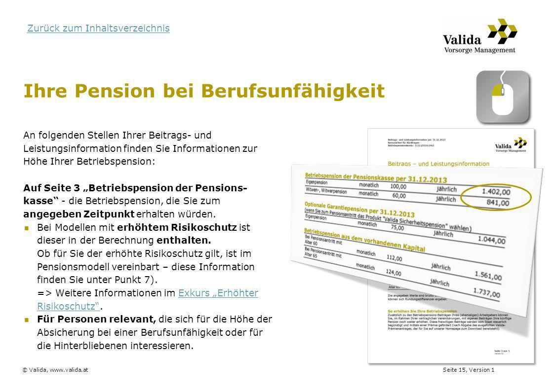Ihre Pension bei Berufsunfähigkeit