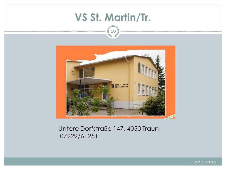 VS St. Martin/Tr. Untere Dorfstraße 147, 4050 Traun 07229/61251