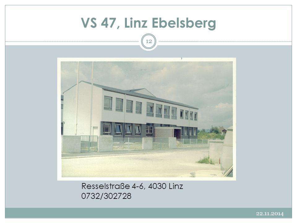 VS 47, Linz Ebelsberg Resselstraße 4-6, 4030 Linz 0732/302728