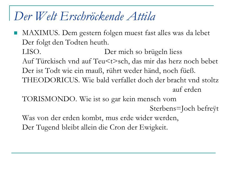 Der Welt Erschröckende Attila