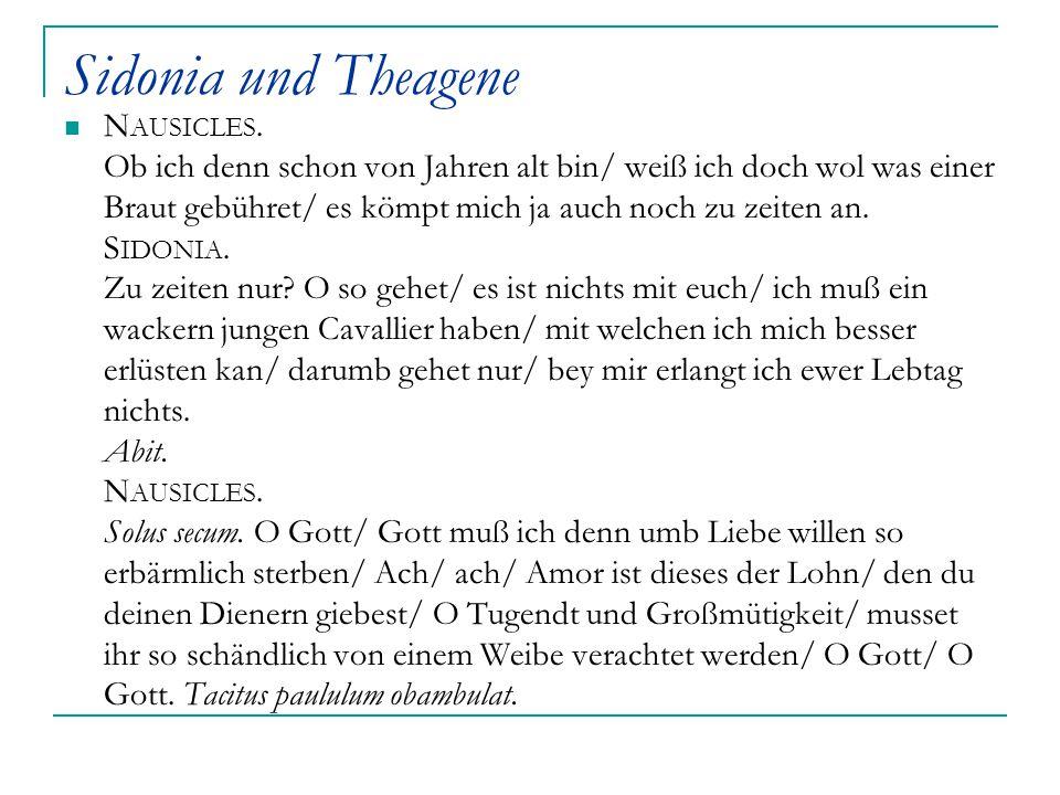 Sidonia und Theagene