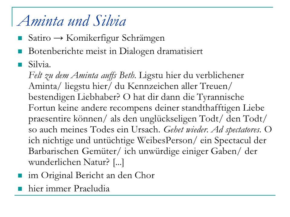 Aminta und Silvia Satiro → Komikerfigur Schrämgen