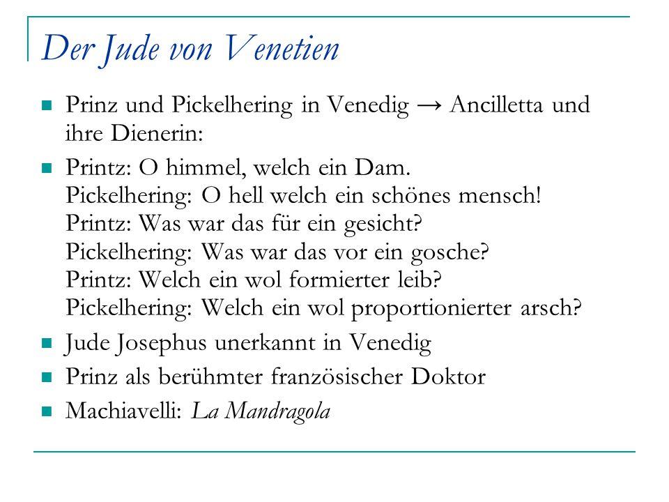 Der Jude von Venetien Prinz und Pickelhering in Venedig → Ancilletta und ihre Dienerin: