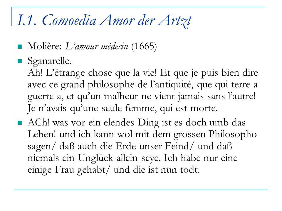 I.1. Comoedia Amor der Artzt