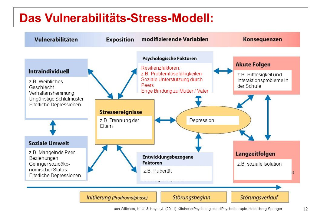 Das Vulnerabilitäts-Stress-Modell:
