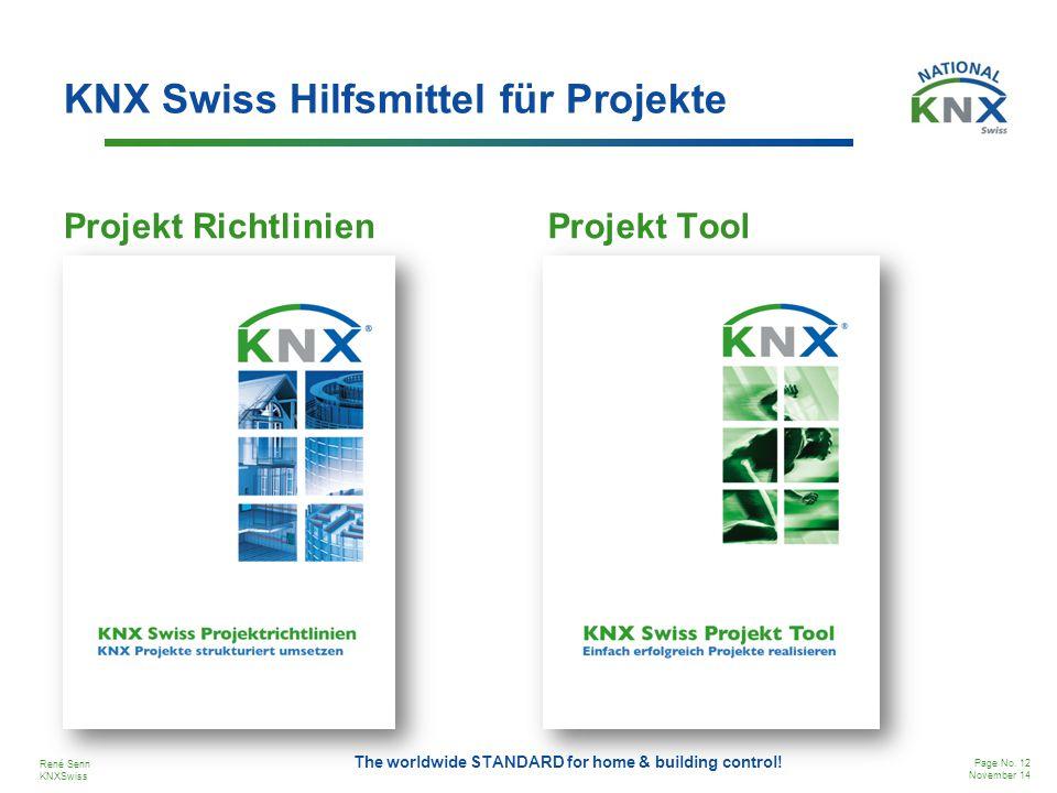 KNX Swiss Hilfsmittel für Projekte