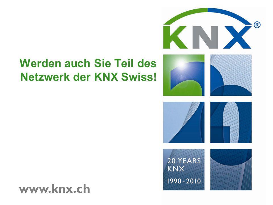 Werden auch Sie Teil des Netzwerk der KNX Swiss!