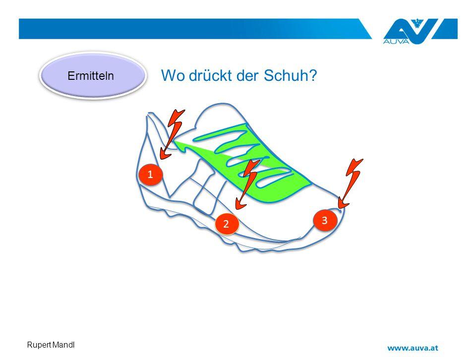 Ermitteln Wo drückt der Schuh 1 3 2