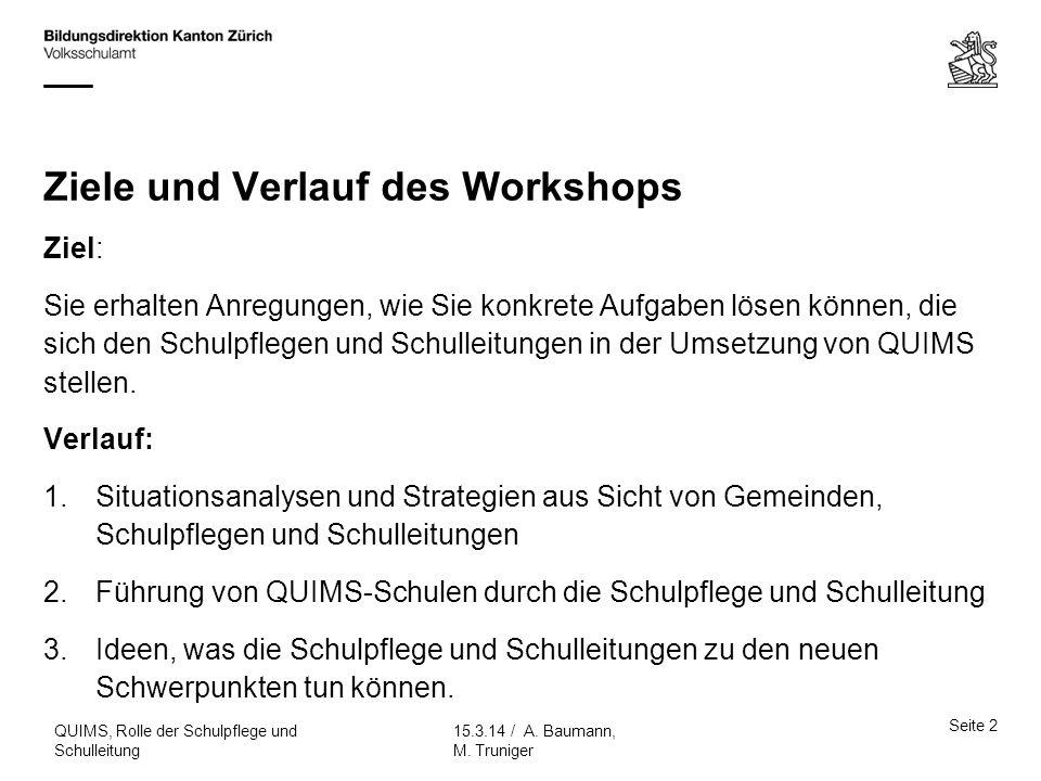 Ziele und Verlauf des Workshops